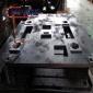 厂家加工定制机械设备墙板翻砂面板加工定制数控镗孔铣面加工底座